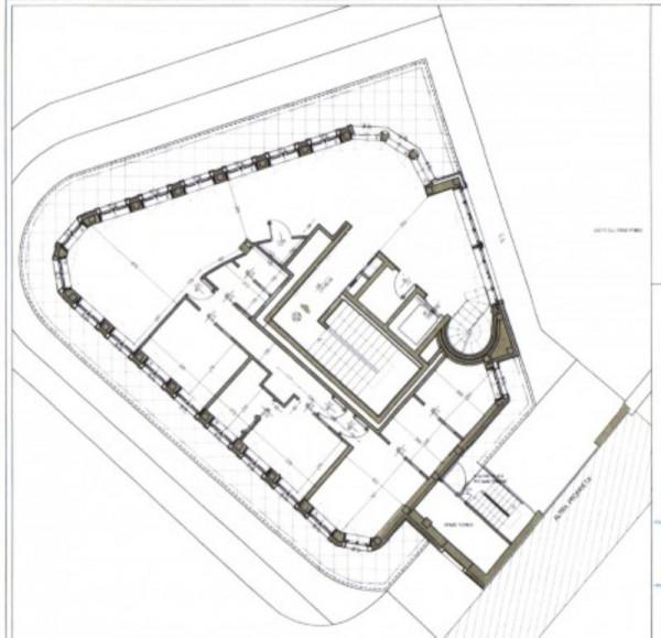 Appartamento in vendita a Milano, Cairoli, Con giardino, 330 mq - Foto 4
