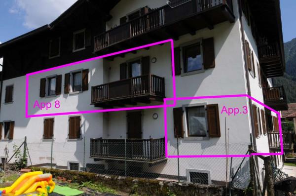 Appartamento in vendita a Strembo, Val Rendena, Arredato, con giardino, 65 mq - Foto 11