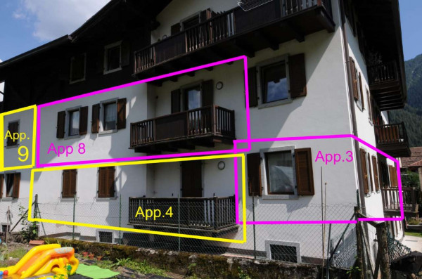 Appartamento in vendita a Strembo, Val Rendena, Arredato, con giardino, 65 mq - Foto 1
