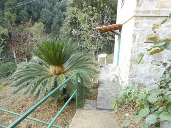 Casa indipendente in vendita a Rapallo, Adiacenze Via Comega, Con giardino, 70 mq - Foto 13