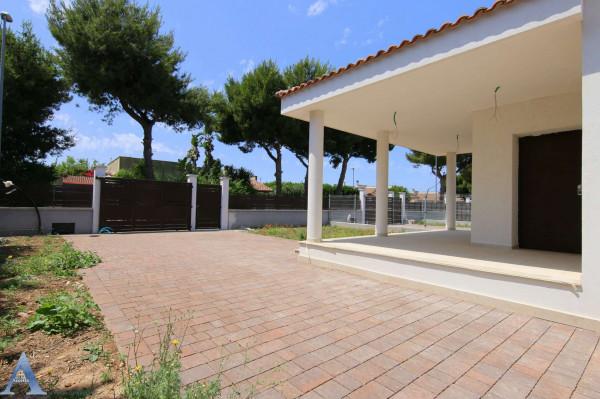 Villa in vendita a Leporano, Gandoli, Con giardino, 92 mq - Foto 3