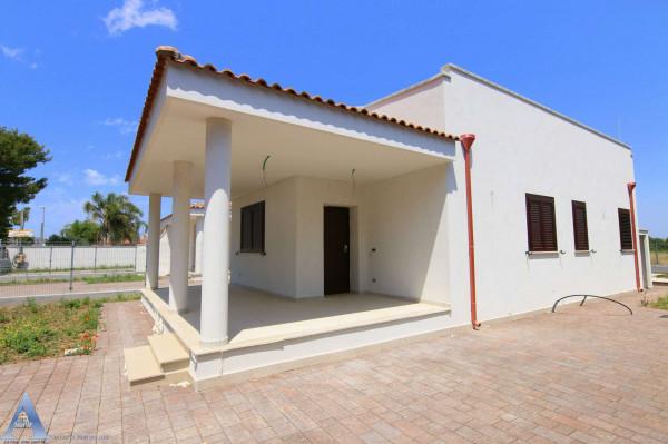 Villa in vendita a Leporano, Gandoli, Con giardino, 92 mq - Foto 13