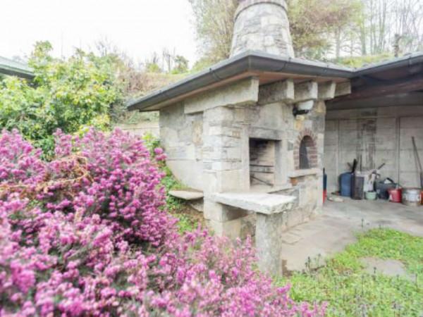 Villa in affitto a Brebbia, Con giardino, 313 mq - Foto 49