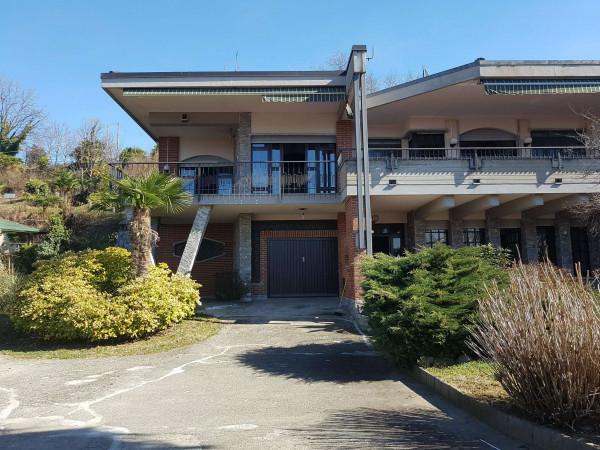 Villa in affitto a Brebbia, Con giardino, 313 mq - Foto 11