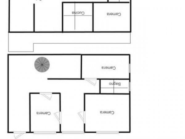 Villa in affitto a Brebbia, Con giardino, 313 mq - Foto 2