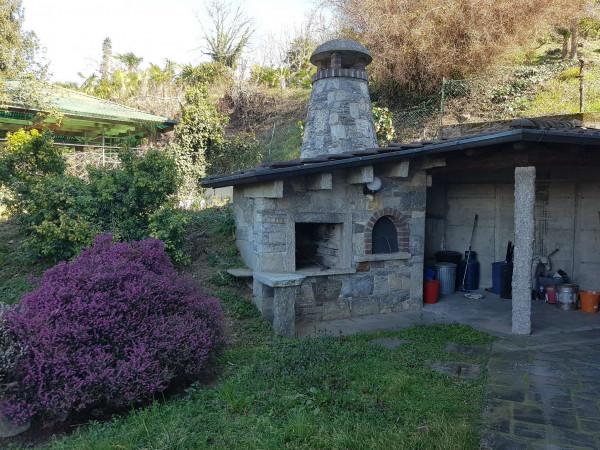 Villa in affitto a Brebbia, Con giardino, 313 mq - Foto 7