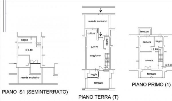 Appartamento in vendita a Monteriggioni, Arredato, con giardino, 120 mq - Foto 27