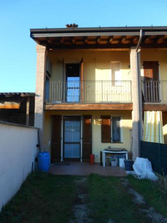 Casa indipendente in vendita a Ricengo, Residenziale, Con giardino, 94 mq - Foto 1