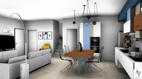 Casa indipendente in vendita a Torino, Barca, Con giardino, 180 mq - Foto 5