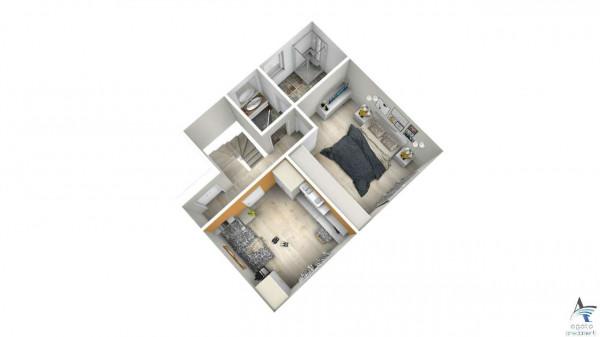 Casa indipendente in vendita a Torino, Barca, Con giardino, 180 mq - Foto 14