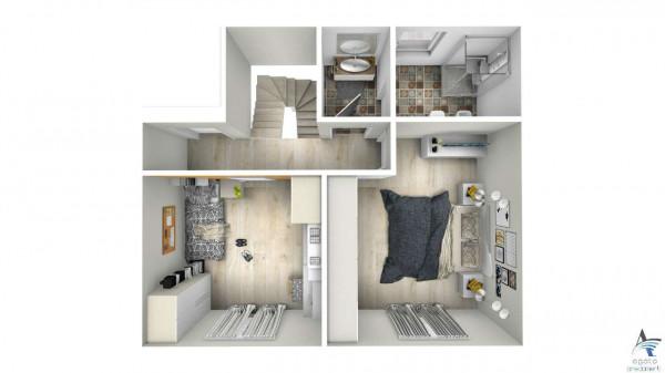 Casa indipendente in vendita a Torino, Barca, Con giardino, 180 mq - Foto 3