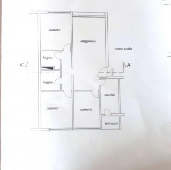 Appartamento in vendita a Roma, Fonte Ostiense, Con giardino, 110 mq - Foto 21