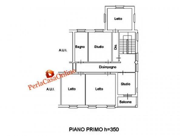 Appartamento in vendita a Forlì, Musicisti, Con giardino, 310 mq - Foto 6