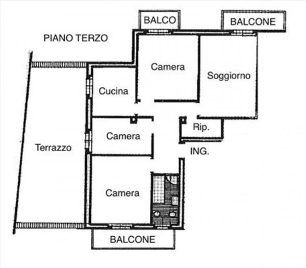 Appartamento in vendita a Siena, 115 mq - Foto 4