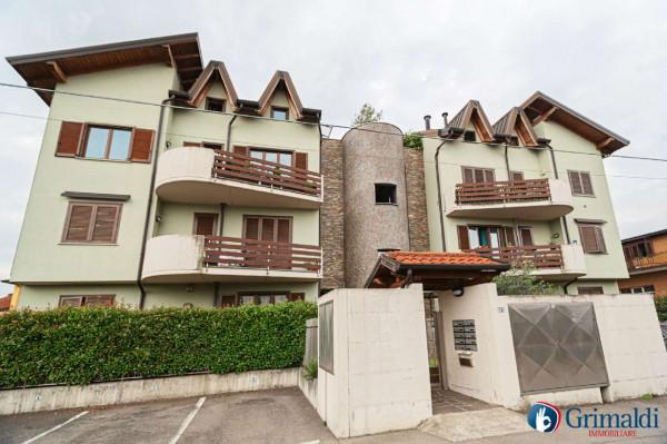 Appartamento in vendita a Canegrate, Centro Canegrate, Arredato, 60 mq