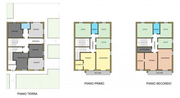 Casa indipendente in vendita a Forlimpopoli, Con giardino, 340 mq - Foto 2