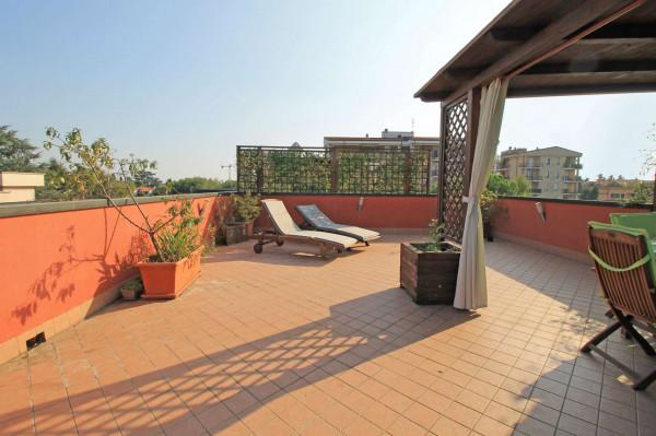 Appartamento in vendita a Cassano d'Adda, Vallette, Con giardino, 108 mq