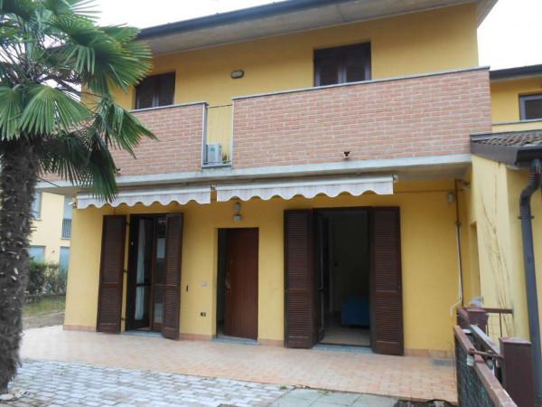 Villa in vendita a Trescore Cremasco, Residenziale, Con giardino, 169 mq