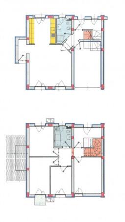 Villa in vendita a Borghetto Lodigiano, Residenziale, Con giardino, 169 mq - Foto 2