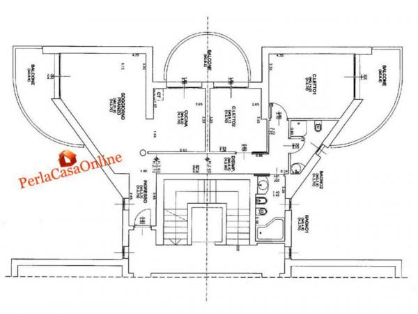 Appartamento in vendita a Forlì, Stadio, Arredato, con giardino, 110 mq - Foto 4