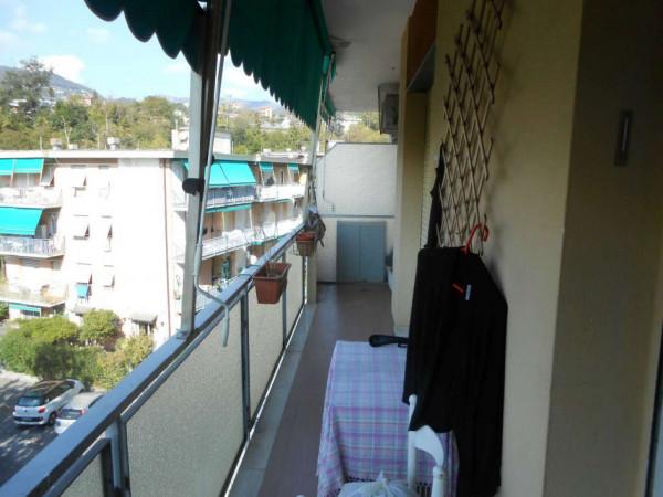 Appartamento in vendita a Rapallo, Sovrastante Via Mameli, Con giardino, 70 mq - Foto 6