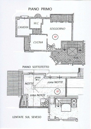 Appartamento in vendita a Lentate sul Seveso, Mucchirolo, Con giardino, 156 mq - Foto 6