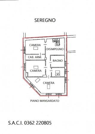 Appartamento in vendita a Seregno, San. Rocco, Con giardino, 220 mq - Foto 2