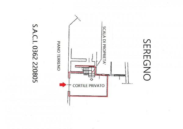 Appartamento in vendita a Seregno, San. Rocco, Con giardino, 220 mq - Foto 4