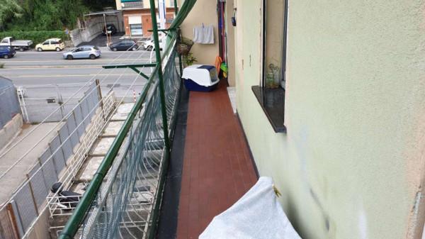 Appartamento in vendita a Genova, Adiacenze Carlini, 90 mq - Foto 2