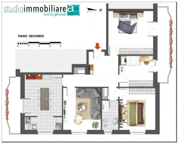 Appartamento in vendita a Genova, Pegli, 115 mq - Foto 3