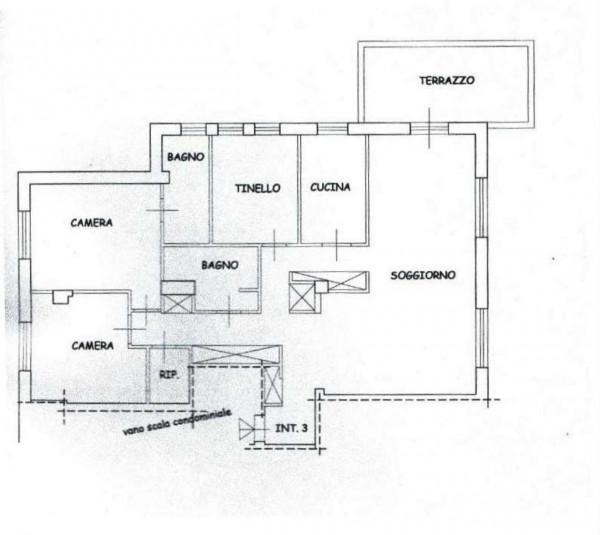 Appartamento in affitto a Roma, Camilluccia, Arredato, 130 mq - Foto 7