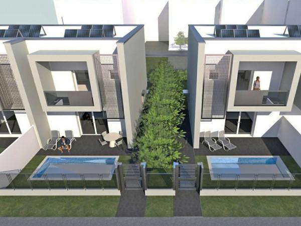 Villa in vendita a Casirate d'Adda, Centro, Con giardino, 165 mq