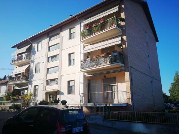 Appartamento in vendita a Asti, Portacomaro Stazione, Con giardino, 90 mq