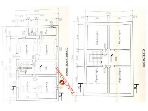 Casa indipendente in vendita a Galeata, San Zeno, 250 mq - Foto 4
