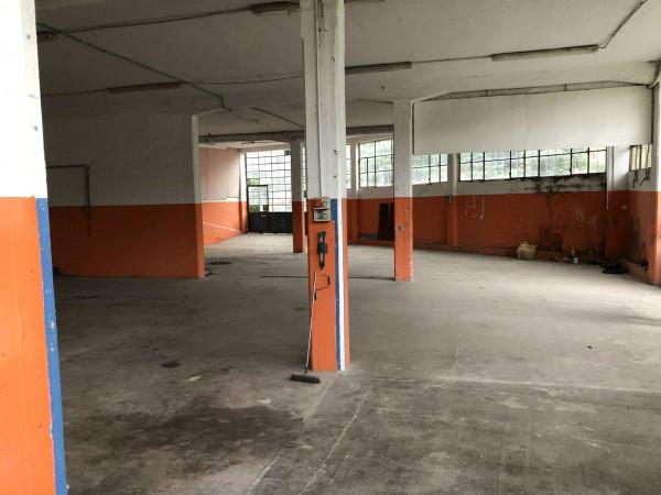 Capannone in vendita a Laveno-Mombello, Centro, 400 mq - Foto 4