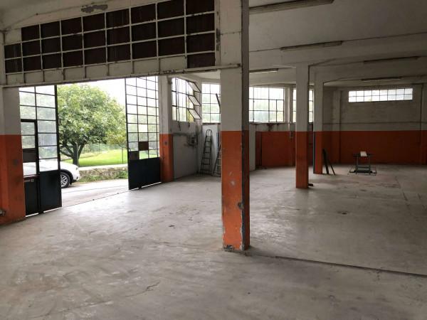 Capannone in vendita a Laveno-Mombello, Centro, 400 mq - Foto 13