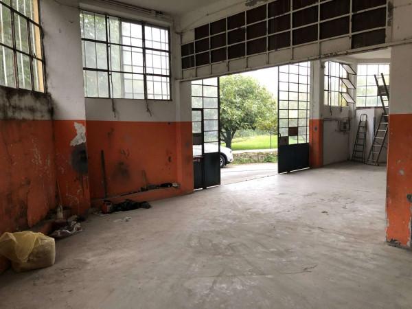 Capannone in vendita a Laveno-Mombello, Centro, 400 mq - Foto 14