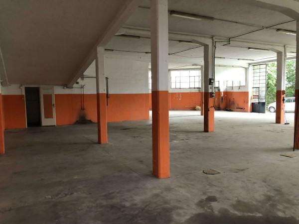 Capannone in vendita a Laveno-Mombello, Centro, 400 mq - Foto 8