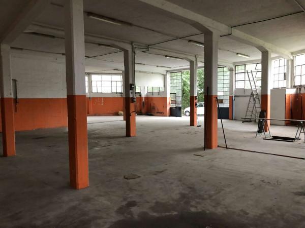 Capannone in vendita a Laveno-Mombello, Centro, 400 mq - Foto 9