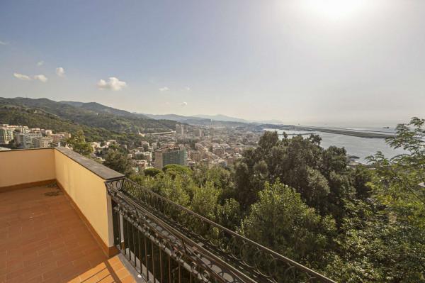 Villa in vendita a Genova, Pegli, Arredato, con giardino, 200 mq - Foto 21
