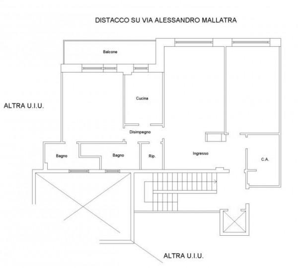 Appartamento in vendita a Roma, Monti Tiburtini Pietralata, 100 mq - Foto 5
