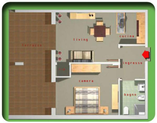 Appartamento in vendita a Taranto, Residenziale, Arredato, 57 mq - Foto 2