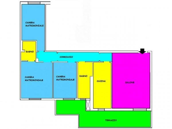 Appartamento in vendita a Roma, Torre Maura, 115 mq - Foto 2