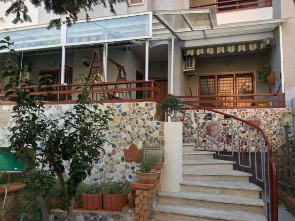 Villetta a schiera in vendita a Somma Vesuviana, Con giardino, 227 mq
