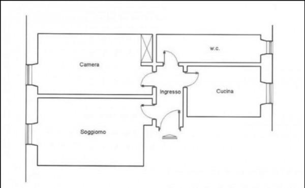 Appartamento in vendita a Roma, Piazza Ragusa, Con giardino, 65 mq - Foto 2