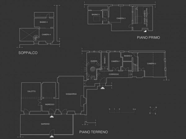 Appartamento in vendita a Bagno a Ripoli, Con giardino, 283 mq - Foto 22