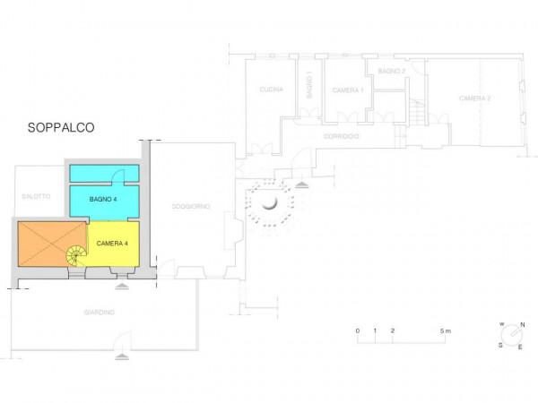 Appartamento in vendita a Bagno a Ripoli, Con giardino, 283 mq - Foto 3