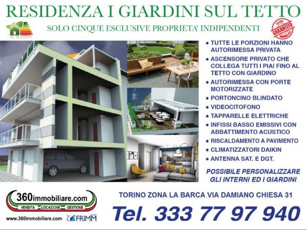 Casa indipendente in vendita a Torino, Barca, Con giardino, 180 mq - Foto 13