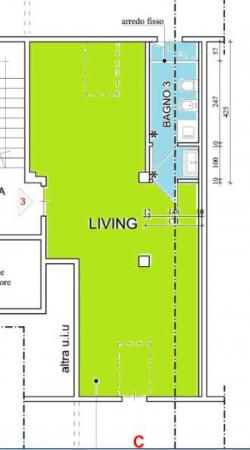 Appartamento in affitto a Torino, Parella, Con giardino, 40 mq - Foto 3