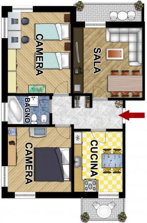 Appartamento in vendita a Sestri Levante, Centrale, 85 mq